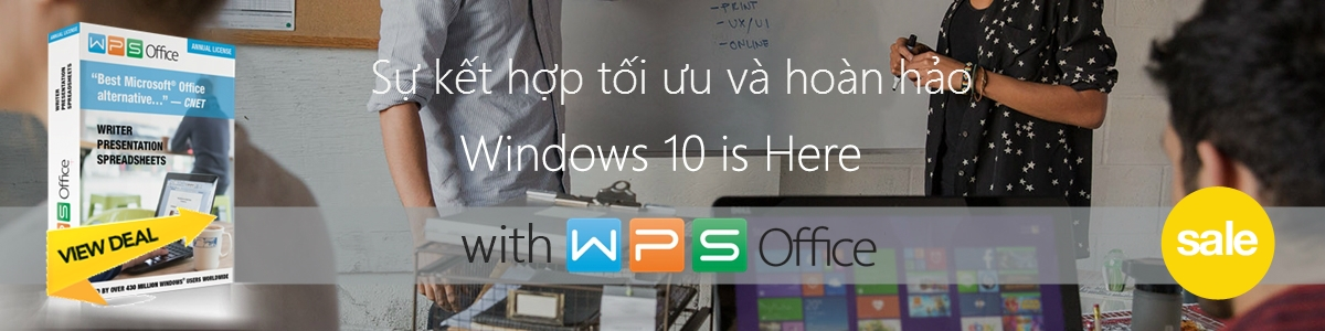 Microsoft with WPS