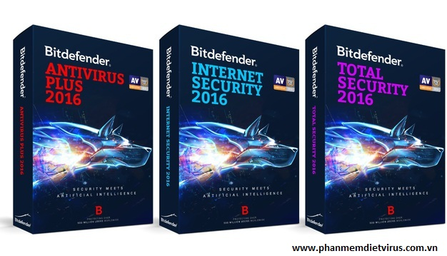 Sản phẩm mới nhất của Bitdefender