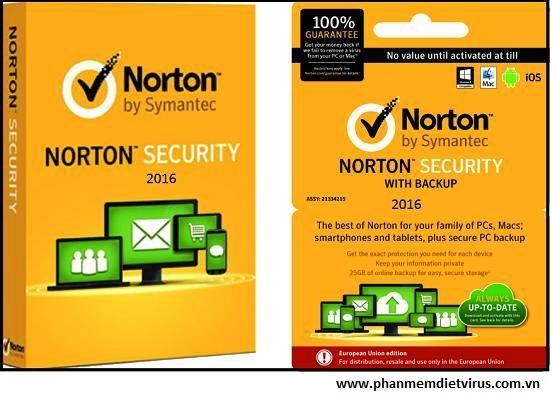 Norton 2016 phiên bản mới