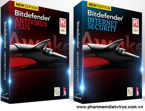 Bidefender Antivirus và Bitdefender Internet Security