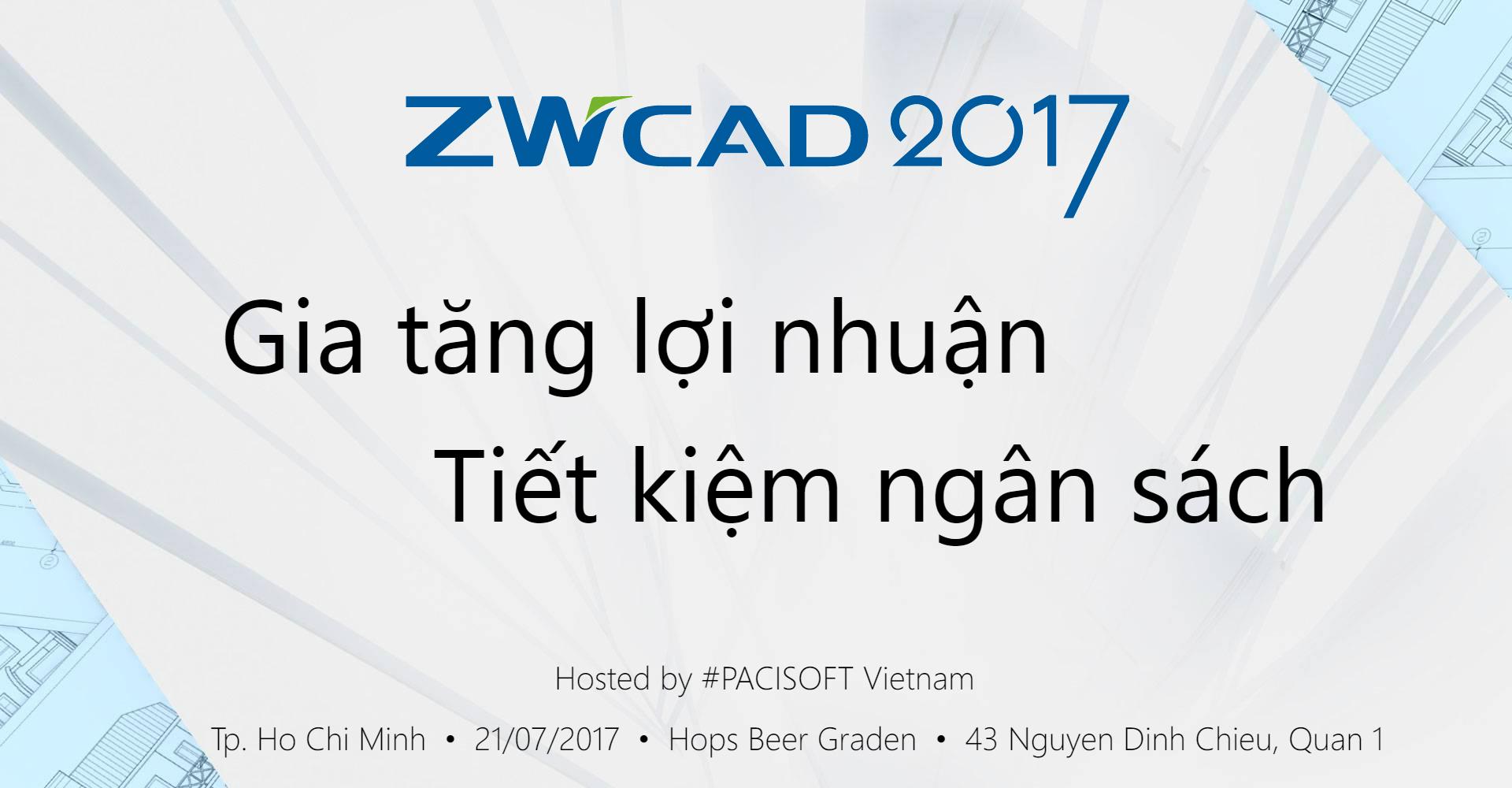 zwcad 2017 banner